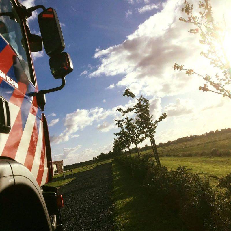 Brandweer Joure is onderweg